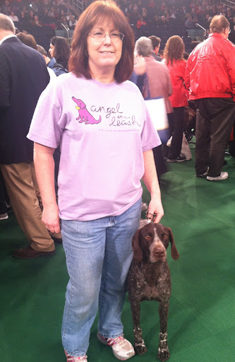 German Shorthaired Pointer (and our friends from 'Angel on a Leash')