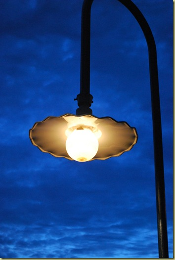 Lamp in the Evening