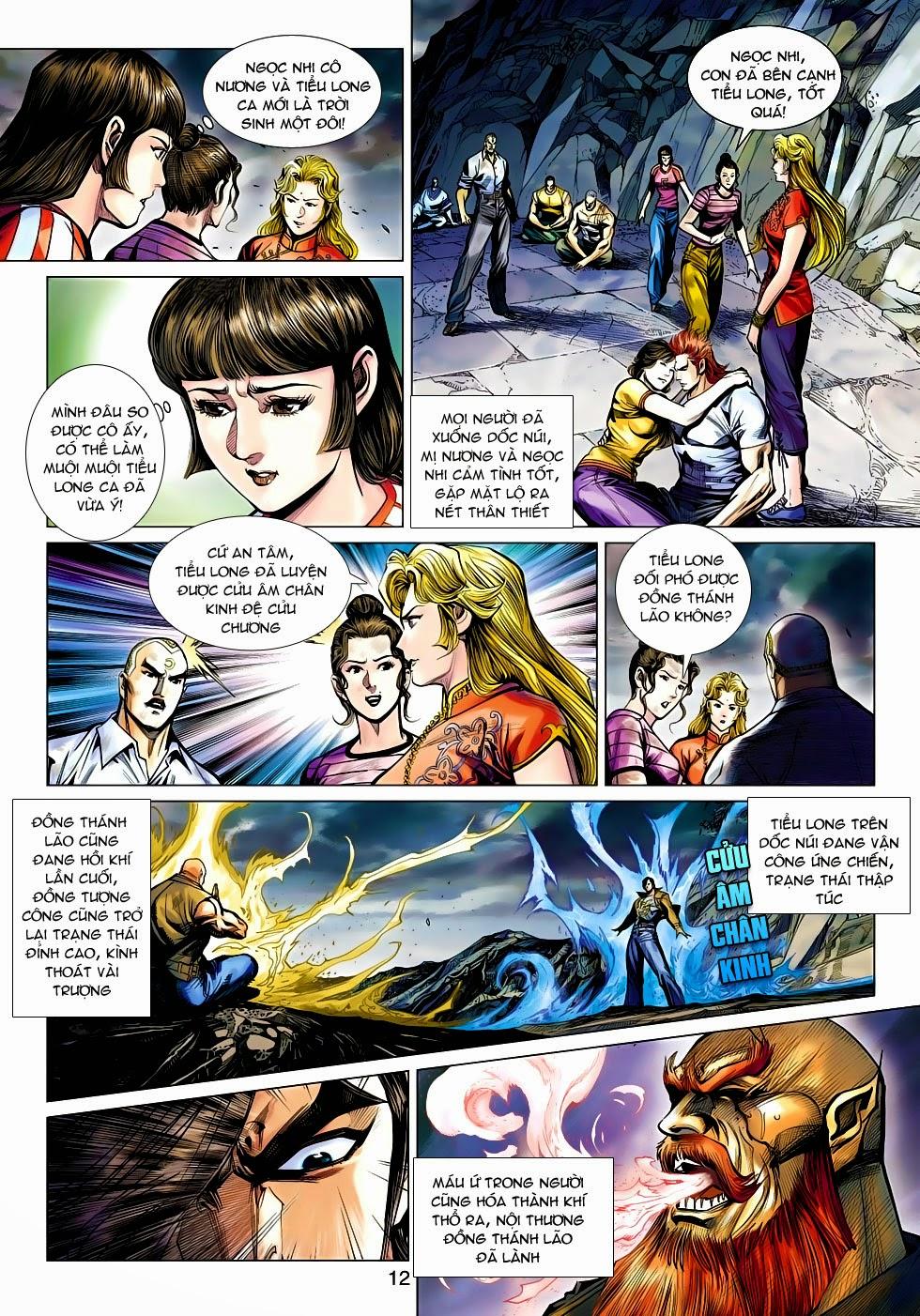 Tân Tác Long Hổ Môn chap 470 - Trang 12
