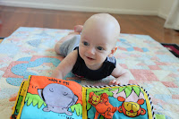 Tummy time aint so bad after all!