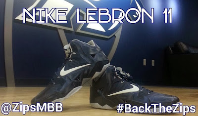nike lebron 11 pe akron zips 1 03 Akron Zips Join Nike LeBron 11 Player Edition Forces