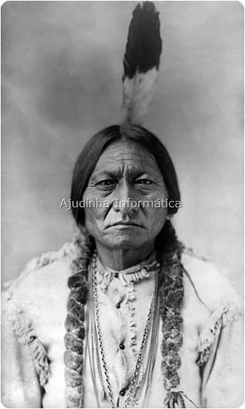Uma lenda nos EUA: O chefe indígena Touro Sentado