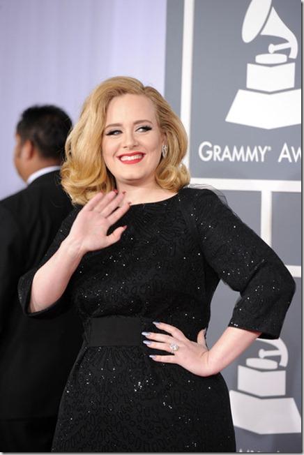 Adele 54th Annual GRAMMY Awards Arrivals 4wSM3pP7skll