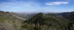 The view from Emory Pass in the Black Mountains.