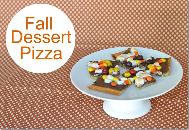 Decor and the Dog's Fall Dessert Pizza