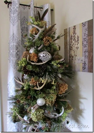 Christmas Decorating Ideas. Take a rustic dining room tour using the outdoors as inspiration.