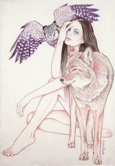 Moonchild by Andrea Hrnjak via allonsykimberly.com