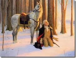 Washington-Praying
