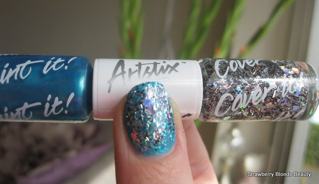 Models-Own-Elements-Artstix-Blue-Spray-swatch-pic-review