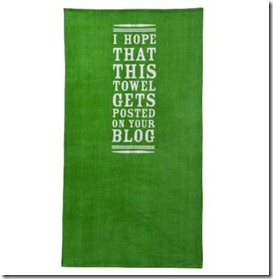 Blog Beach Towel