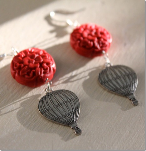 ballon earrings