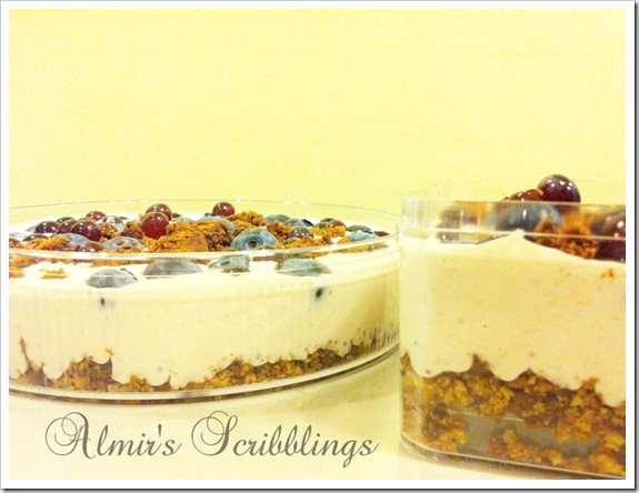 no bake blueberry cheesecake 2