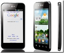 HTC Salsa And LG Optimus Black Head To Head