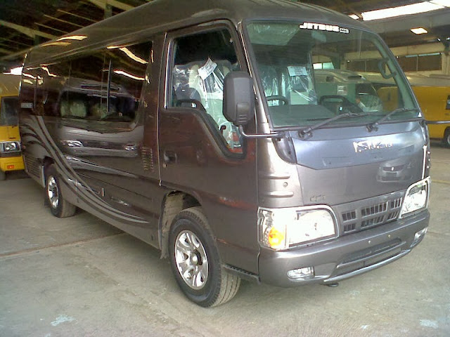 rental mobil carteran elf rombongan