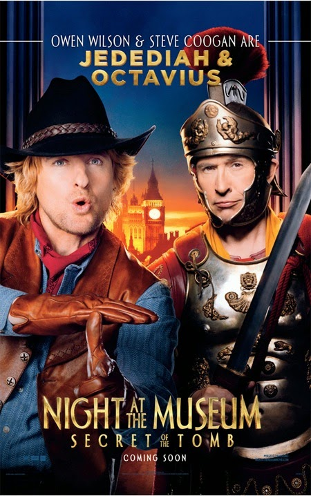 Owen Wilson and Steve Coogan - Night At The Museum 3