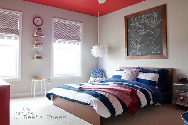 Boys bedroom from Just The Bee's Knees