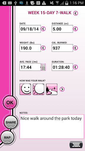 Susan G. Komen 3-Day 16-Week - screenshot