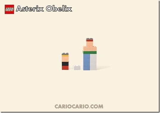 Lego asterix obelix