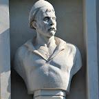 Бюст И. Шевченко в нише на стене здания Панорамы обороны Севастополя