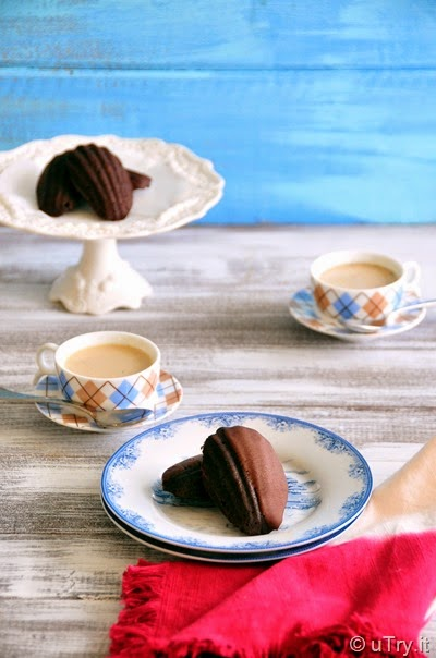 Dark Chocolate Espresso Madeleines and a Giveaway   http://uTry.it