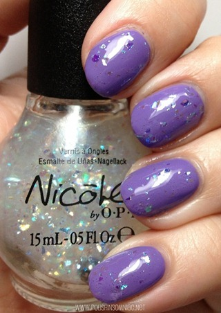 Nicole by OPI Heavenly Angel Love Song