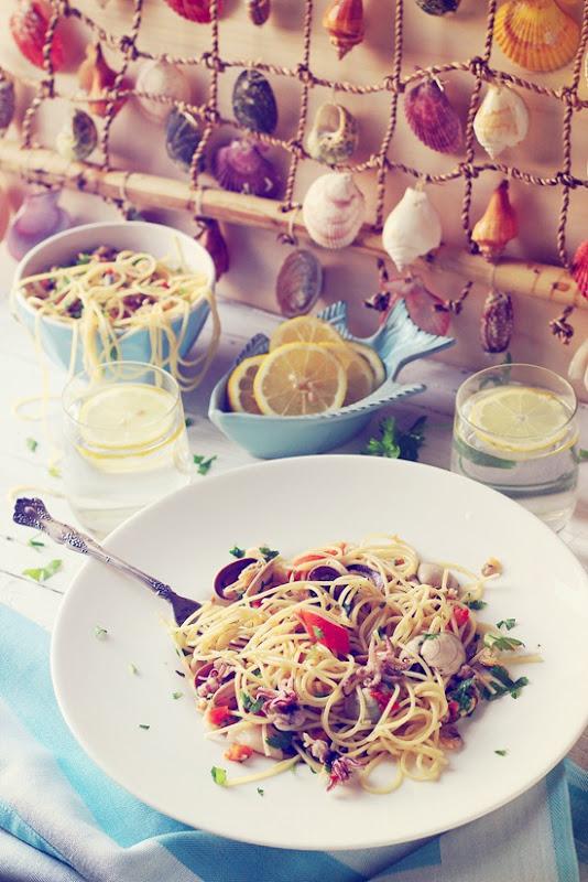 Spaghetti allo scoglio 5