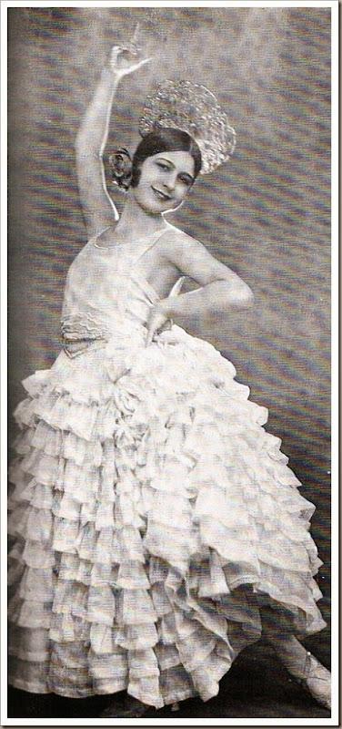 Conchita Piquer jovencísima 1922