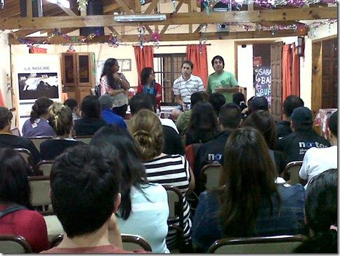 Del taller participaron agentes municipales y comunitarios
