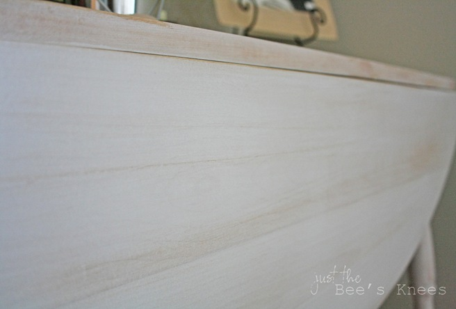 whitewash finish