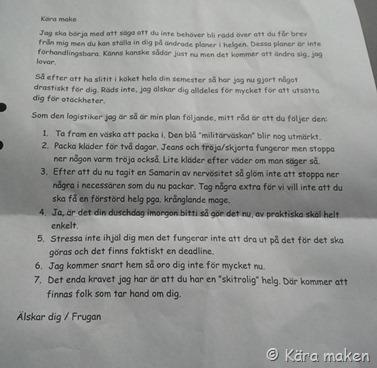 brev kära make