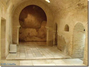 Vestíbulo de los baños árabes - Jaén