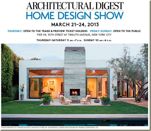 Willow Decor: Architectural Digest Home Design Show & My Beach House