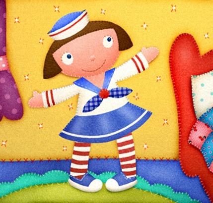 17022012 clipart imagem decoupage boneca
