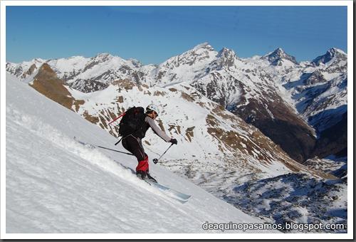 Circo Sur del Midi d'Ossau con esquis (Portalet, Pirineo Frances) (Fon) 234