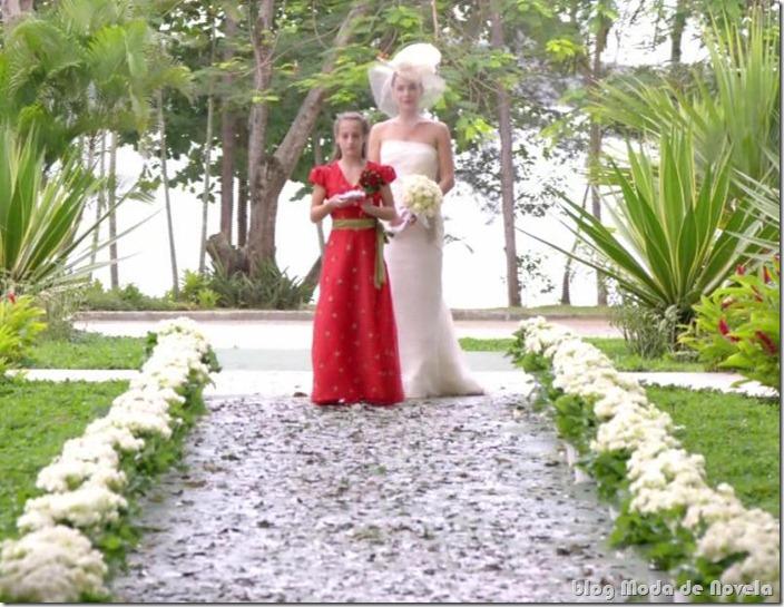 moda da novela avenida brasil - vestido de noiva da alexia capítulo ...