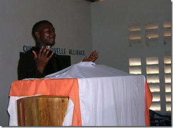 Pastor Kazadi prayer - Nganza prayer