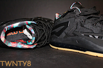 nike lebron 11 low gr black hyper crimson 3 11 Detailed Look at the Nike LeBron 11 Low Neutral