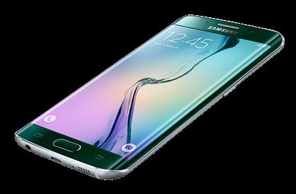 Samsung Galaxy S6 Edge - vihreä smaragdi