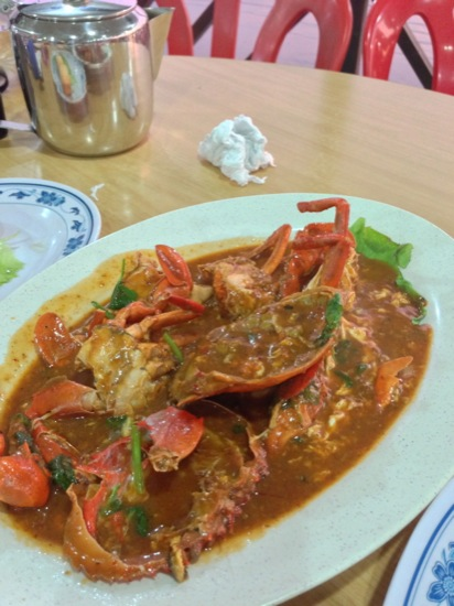 Chilli Crab at Yeo's Seafood Restaurant