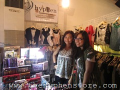 me and lauren at supersale rockwell, by hyphen