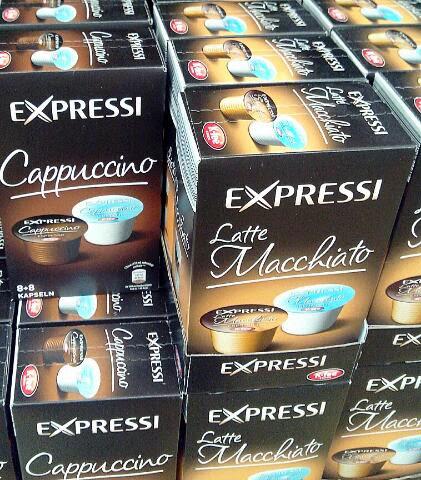 Cappuccino Kaffeekapseln