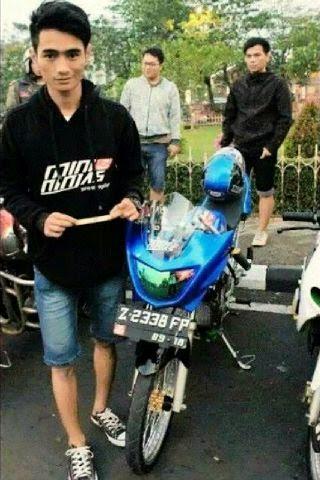 kumpulan modifikasi motor ninja r warna biru
