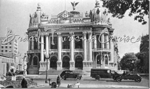 Teatro Municipal -início século