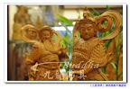 【韋馱伽藍護法】一尺三樟木原木雕刻莊嚴佛像@台北板橋九龍佛具