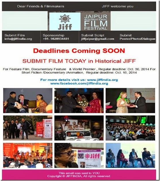 Sept 29 Jaipur Fest