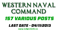 Western Naval Command Jobs 2013