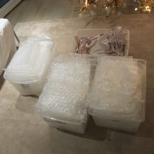 Bubble wrap is so important.