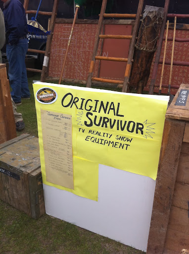 Props from the television series Survivor.