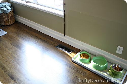 installing baseboards over old