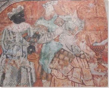 Epifanía del segundo maestro de Gallipienzo - detalle
